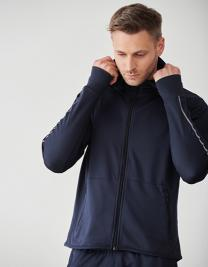 Men`s Hoodie with Reflective Tape